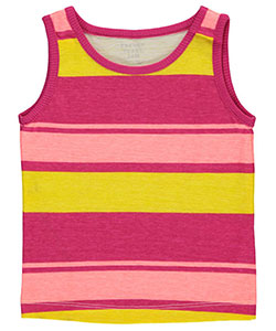 "French Toast Baby Girls' ""Sorbet Stripe"" Tank Top - CookiesKids.com"