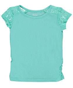 "French Toast Little Girls' Toddler ""Lace Trim"" Top (Sizes 2T – 4T) - CookiesKids.com"
