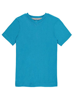 French Toast Little Boys' Toddler S/S V-Neck T-Shirt (Sizes 2T – 4T) - CookiesKids.com