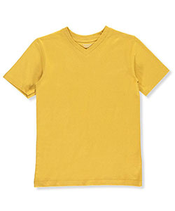 French Toast Big Boys' S/S V-Neck T-Shirt (Sizes 8 – 20) - CookiesKids.com