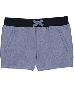 "French Toast Little Girls' ""North Fork"" Short Shorts (Sizes 4 – 6X) - CookiesKids.com"