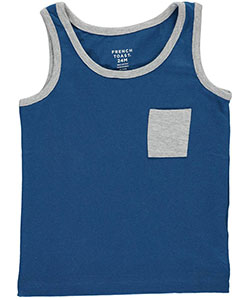 "French Toast Baby Boys' ""Edgy Contrast"" Tank Top - CookiesKids.com"