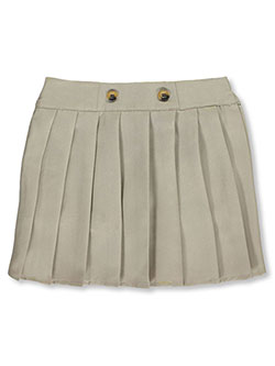 French Toast Big Girls' Front Button Pleated Scooter (Sizes 7 – 20) - CookiesKids.com