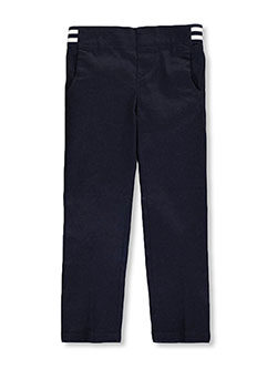 French Toast Little Girls' Toddler Pull-On Contrast Waist Pants (Sizes 2T – 4T) - CookiesKids.com