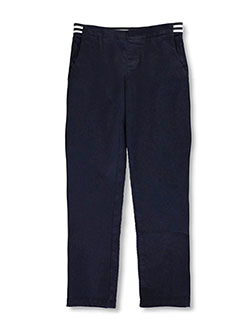 French Toast Big Girls' Pull-On Contrast Waist Pants (Sizes 7 – 16) - CookiesKids.com