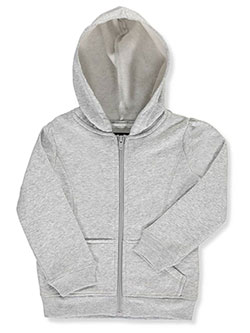 French Toast Big Girls' Fleece Zip Hoodie (Sizes 7 – 16) - CookiesKids.com