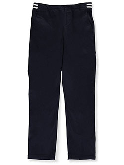 French Toast Big Girls' Plus Pull-On Contrast Waist Pants (Sizes 10.5 – 20.5) - CookiesKids.com