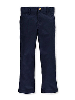 French Toast Big Girls' Plus Straight Leg Pants (Sizes 12.5 – 20.5) - CookiesKids.com
