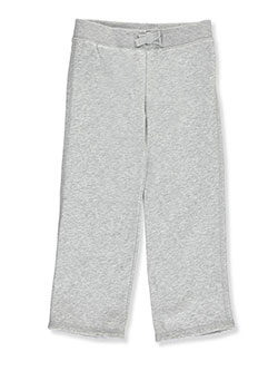 French Toast Little Girls' Toddler Straight Leg Fleece Sweatpants (Sizes 2T – 4T) - CookiesKids.com