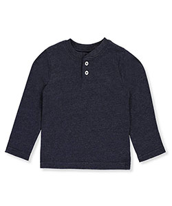 French Toast Baby Boys' L/S Henley Shirt - CookiesKids.com