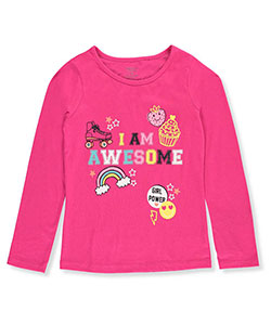 French Toast Little Girls' Toddler L/S T-Shirt (Sizes 2T – 4T) - CookiesKids.com