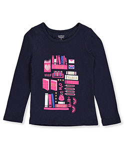 French Toast Little Girls' L/S T-Shirt (Sizes 4 – 6X) - CookiesKids.com