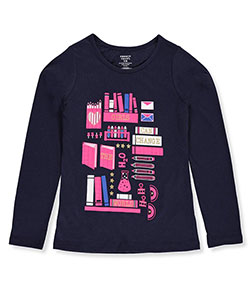 French Toast Big Girls' L/S T-Shirt (Sizes 7 – 16) - CookiesKids.com