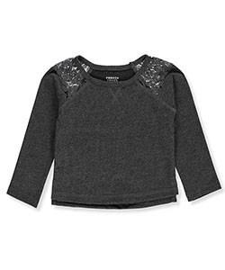 French Toast Baby Girls' L/S Top - CookiesKids.com