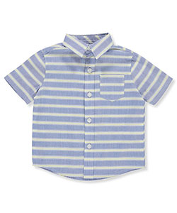 French Toast Baby Boys' Button-Down Shirt - CookiesKids.com