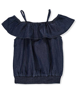 French Toast Girls' Cold Shoulder Top - CookiesKids.com