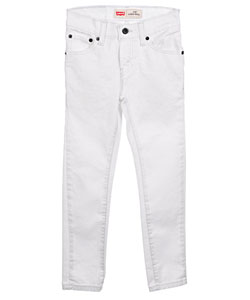 "Levi's 510 ""White Stretch"" Super Skinny Jeans (Sizes 8 – 20) - CookiesKids.com"