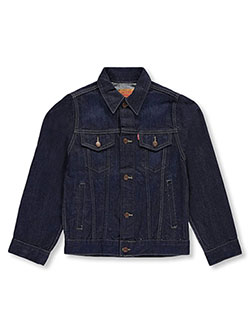 Levi's Big Boys' Classic Denim Jacket (Sizes 8 – 20) - CookiesKids.com