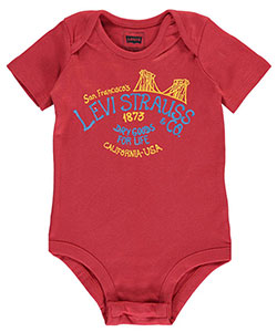 "Levi's Baby Boys' ""Dry Goods for Life"" Bodysuit - CookiesKids.com"