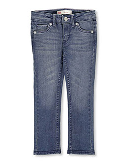 Levi's Little Girls' 711 Skinny Jeans (Sizes 4 – 6X) - CookiesKids.com
