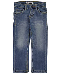"Levi's Little Boys' 511 ""Reclaimed"" Slim Fit Performance Jeans (Sizes 4 – 7) - CookiesKids.com"