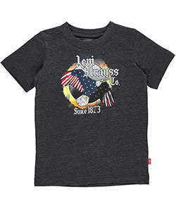 "Levi's Little Boys' Toddler ""1873 Patriot"" T-Shirt (Sizes 2T – 4T) - CookiesKids.com"