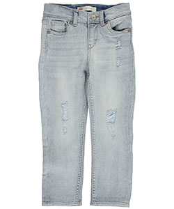 "Levi's Little Girls' Toddler ""Town & Swooped"" Boyfriend Jeans (Sizes 2T – 4T) - CookiesKids.com"