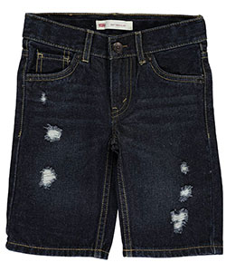 "Levi's Little Boys' Toddler 505 ""Subtle Whisker"" Regular Fit Shorts (Sizes 2T – 4T) - CookiesKids.com"