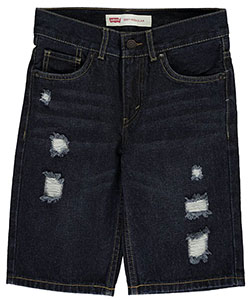 "Levi's Big Boys' 505 ""Subtle Whisker"" Regular Fit Shorts (Sizes 8 – 20) - CookiesKids.com"