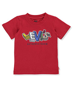 "Levi's Baby Boys' ""Logo Blocks"" T-Shirt - CookiesKids.com"