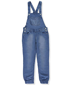 Levi's Big Girls' Chambray Overalls (Sizes 7 – 16) - CookiesKids.com