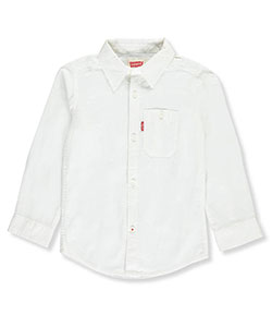 Levi's Little Boys' L/S Button-Down Shirt (Sizes 4 – 7) - CookiesKids.com