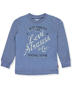 Levi's Little Boys' L/S T-Shirt (Sizes 4 – 7) - CookiesKids.com