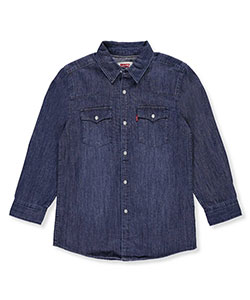 Levi's Boys' Button-Down Shirt - CookiesKids.com