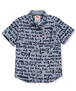 Levi's Boys' S/S Button-Down - CookiesKids.com
