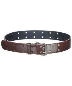 "Cookie's Brand ""Double Punch"" Genuine Patent Leather Belt (Sizes 26"" – 36"") - CookiesKids.com"