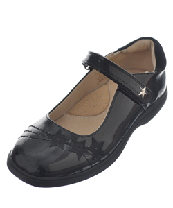 "Easy Strider Girls' ""Star Shine"" Mary Janes (Youth Sizes 13 – 4) - CookiesKids.com"