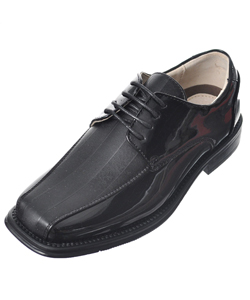 "Easy Strider Boys' ""Texture Stripe Vamp"" Dress Shoes (Youth Sizes 13 – 7) - CookiesKids.com"
