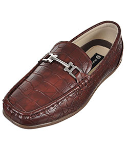 Easy Strider Boys' Faux Snakeskin Loafers (Youth Sizes 13 – 7) - CookiesKids.com