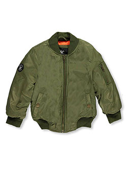 "Beverly Hills Polo Club Little Girls' ""Test Pilot"" Flight Jacket (Sizes 4 – 6X) - CookiesKids.com"