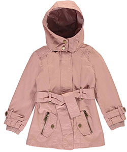 "Beverly Hills Polo Club Little Girls' Toddler ""Military-Inspired"" Hooded Jacket (Sizes 2T – 4T) - CookiesKids.com"