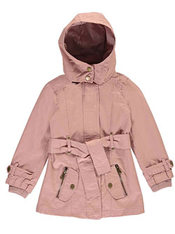"Beverly Hills Polo Club Big Girls' ""Military-Inspired"" Hooded Jacket (Sizes 7 – 16) - CookiesKids.com"