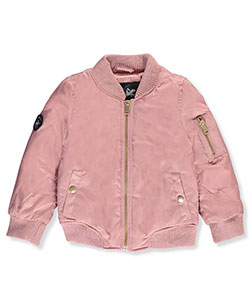Beverly Hills Polo Club Little Girls' Flight Jacket (Sizes 4 – 6X) - CookiesKids.com