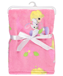 "Precious Moments ""Bunny Hugs"" Plush Blanket - CookiesKids.com"