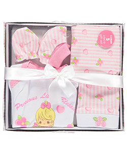 "Precious Moments Baby Girls' ""Little Blessings"" 5-Piece Layette Gift Set - CookiesKids.com"