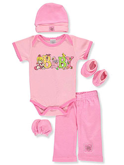 Precious Moments Baby 5-Piece Layette Gift Set 0-3months