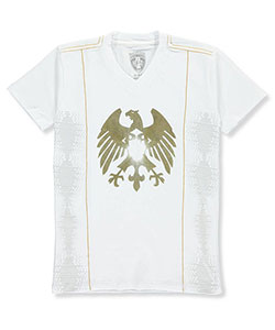 Bucheli Kids Big Boys' Foil T-Shirt (Sizes 8 – 20) - CookiesKids.com