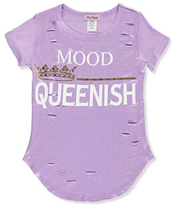 "Miss Popular Big Girls' ""Queenish"" T-Shirt (Sizes 7 – 16) - CookiesKids.com"