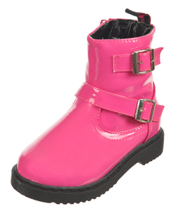 "Yokids Girls ""Buckle Up"" Boots (Toddler Sizes 5 – 10) - CookiesKids.com"