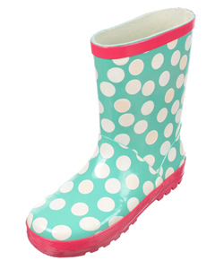 "Yokids Girls ""Super Color Change Dots"" Rain Boots (Toddler Sizes 10 – 12) - CookiesKids.com"